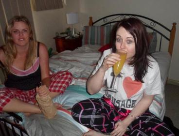 30th birthday champage & orange juice