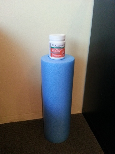 Magnesium and my foam roller - a match made in heaven