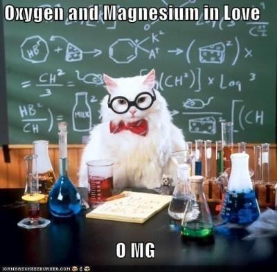 Oxygen & magnesium