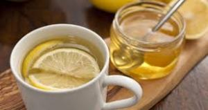 Honey and lemon drink
