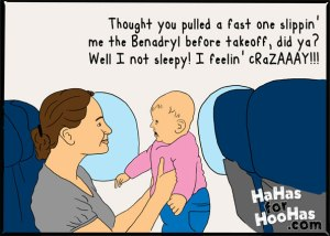 How to survive a flight with a baby