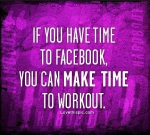 make time to workout